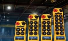 Enhanced safety with radio crane control cranes